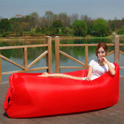 IPRee® Air Inflatable Lazy Sofa 210D Oxford Portable Travel Lay Bed Lounger Max Load 300kg