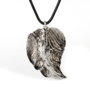 Ethnic Handmade Silver Necklaces Leaf Beads Ball Shirts Sweater Vintage Long Necklaces for Women