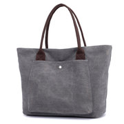 Women Canvas Large Capacity Handbag Leisure Shoulder Bag