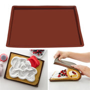Antihaft-Silikon-Backofen Backmatte Swiss Roll Backblech Rolling Teig Pad
