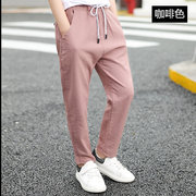 Boys Casual Pants Season New Big Children Cotton And Linen Air Conditioning Pants Boys Thin Mosquito Pants