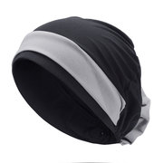 Women Breathable Comfortable Chemotherapy Hat Casual Elastic Beanie Hats Muslim Pile Heap Cap