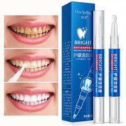 Zahnaufhellungsstift Entfernen Zahnflecken Gelbe Zähne Geräucherter Zahnstein Mundpflege Weiche Bürste Zahnpflege