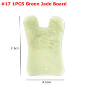 1 pc Natural Jade Pedra Gua Sha Massageador Manual Board Saúde Beleza Facial Massagem Board