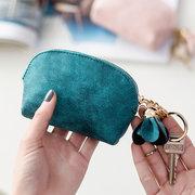 Sacchetti di chiave del supporto della carta del sacchetto della moneta della copertura Shell di colore della caramella per le donne