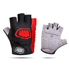 Unisex Cycling Anti-Skid Fitness Shock Gloves Outdoor Sports Sweat Riding Gloves