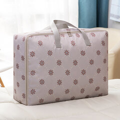 SaicleHome Oxford Printed Clothes Quilts Storage Bags Moisture-proof  Folding Organizer