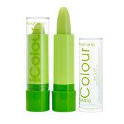 Pintalabios mágico en verde de color variable Lápiz labial duradero de maquillaje