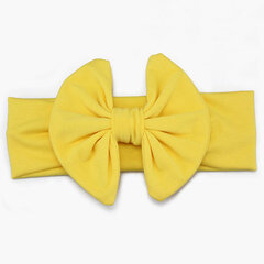 16 Colors Baby Headband Cotton Bowknot Elastic Hair Bands For 0-5 Years