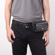Повседневная сумка через плечо из натуральной кожидля мужчин