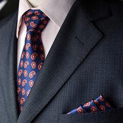 Krawatte und Taschentuch