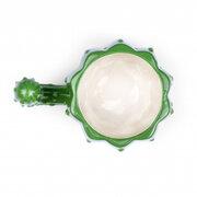 الصبار الأخضر القدح السيراميك الصبار 3D التعامل مع حليب فنجان القهوة مكتب الكأس
