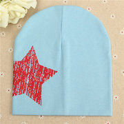 Baby Toddler Kid Cute Star Print Hat Girls Boys Beanie Cap