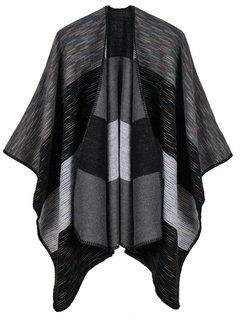 Casual Striped Irregular Shawl Cardigan for Women