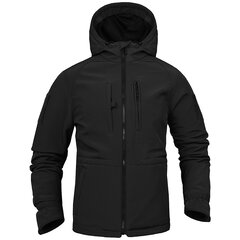 Men Outdoor Waterproof Soft Sell Tactical Jacket Military Training Windproof Outerwear