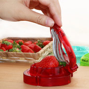 Fruit Strawberry Stainless Steel Slicer Kitchen Tools Gadgets