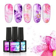 Flor UV Unhas de Gel Polonês 10 ml DIY Nail Art Design Levou Unha Polonês Soak Off UV Gel Unha Beleza