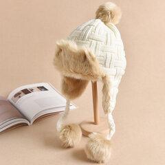 Femmes Hiver Chaud Plus Peluche Bonnets Bonnet Avec Earflaps LeiFeng Casquettes Chapeaux Trappeur