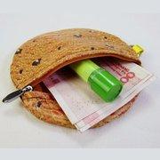 Творческий 3D печенье Монета Кошелек карты владельца кошелька монеты Сумка