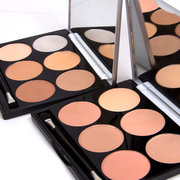 6 Colors Concealer Palette Facial Corrective Makeup Contour Highlighter Flawless Base Corrector