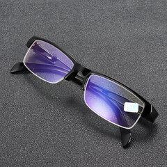 Miopía Gafas Clear Optical Fashion Half-frame miope Gafas Ojo Salud Cuidado -100 a -400