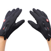 Men Woman Skiing Hiking Ride Camping  Gloves Outdoor Winter Warm Windproof Fleece Gloves