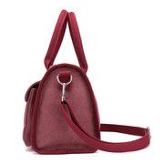 KVKY Fronttaschen Tote Handtaschen Einfache Canvas Schulter Taschen Summer Shopping Taschen