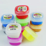 10 Colors Non-toxic Transparent Slime 3D Crystal Clay Squishy Pressure Release Children Educational Toys