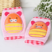 Baby Cotton Crawling Safety  Knee Pads Thick Leg Warmer Elbow Protect Cute Cartoon Socks