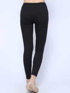Slim Sexy Punk Style Long Ripped Leggings