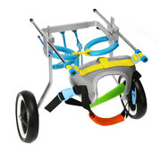 2 Sizes New Adjustable Aluminum Pet Wheelchair Cats Dogs Disabled Hind Legs