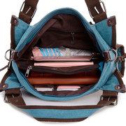 Sac à main de voyage décontracté en toile sac bandoulière quotidien unisexe