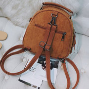 Damen Corduroy Multifunktions-Crossbody-Bag Tassel Solid Backpack Vintage Umhängetasche