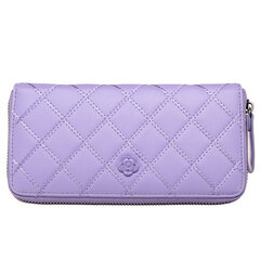 Women Casual Long Card Bag Leisure Grain Wallet