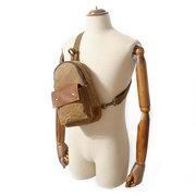 Sac à bandoulière en cuir Casual Vintage Crossbody Bag pour hommes Femmes