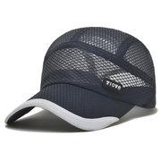 Мужчины Женщины Летняя Ультра-тонкая Быстро-Сушилка Сетка Бейсболки Открытый Спорт Breathable Hat
