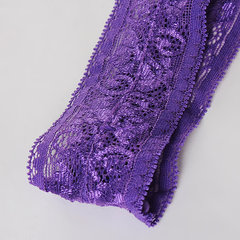 Plus Size Women Sexy Lace V-Strings Hollow Out Temptation Thongs Panties