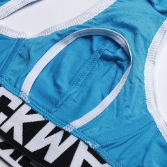 Sexy Sport Jockstrap Patch Breathable Butt Lifting Briefs Underwear for Men