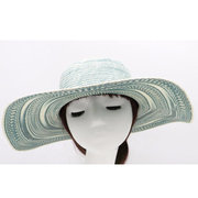 Women Wide Brim Outdoor Sun Hats Casual Vacation Straw Top Hats