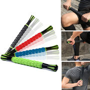 Gear Shaped Muscle Massage Roller Stick Muscles Fascia Relaxation Tool Fitness Relax