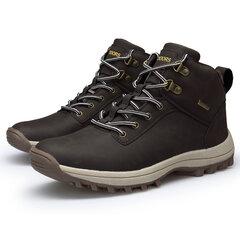 Bottes de randonnée à lacets imperméables pour hommes