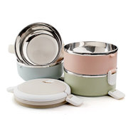 1/2/3/4 Layers Stainless Steel Thermal Insulated Lunch Box Bento Food Storage Container