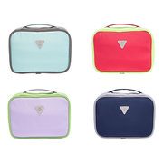 Travel Casual Nylon Folding Cosmetic Bag Storage Bags Wash Bags Hang Bag