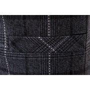 Casual Business Sottile Fit Plaid Suit Collar Vest Gilet di puro colore per gli uomini
