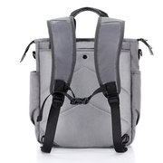 Men Multi-function Nylon Water Resistant Backpack Business Solid Crossbody Bags Outdoor  Handbags