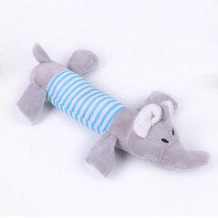 Mrosaa Cute Pet Hundespielzeug Kauen Squeaker Tiere Katze Spielzeug