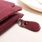 Portefeuille Femme Mode en Cuir PU avec Grande Capacité Porte-cartes avec 13 Fentes Cartes Sac pour Téléphone