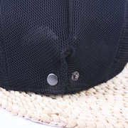 Men Women Breathable Mesh Beret Cap Cotton Travel Sun Hat Forward Cap