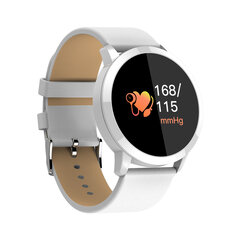 Newwear Q8 0.95 polegadas OLED Color Screen Blood Pressure Heart Rate Smart Watch para Android iOS