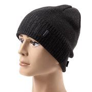 Men Women Thicken Knitted Skiing Beanie Skull Cap Winter Warm Beanies Solid Color Hat